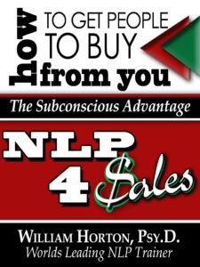How to get people to buy from you!  by Dr. Will Horton